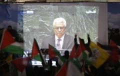 Palestinesi in piazza per festeggiare l'ingresso nell'Onu (fonte immagine: internazionale.it)