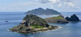 L'Isola Senkaku, contesa tra Cina e Giappone (fonte  immagine: ilpost.it)
