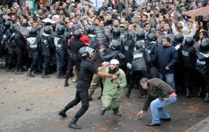 Momenti delle proteste di piazza da parte delle opposizioni egiziane (Fonte immagine: internazionale.it/APLaPresse)