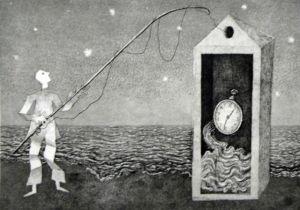 """""""Il Pescatore"""" Enrico Benaglia. Fonte immagine: Francesco Ciaffi"""
