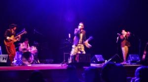 Sul palco. Fonte immagine: Valentina Palermi