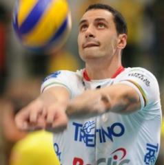 Nella foto Matey Kaziyski, Itas Diatec Trentino (fonte immagine: Pianeta volley, Blogosfere)