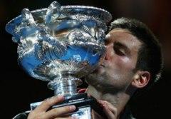 Novak Djokovic, trionfatore degli Australian Open nel 2012