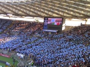 Anche quest'anno l'Olimpico sarà pieno come a novembre 2012 contro gli All Blacks? (foto di Gabriele Farina)