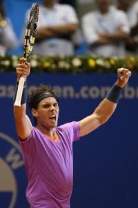 Primo trionfo di Nadal nel 2013 a San Paolo del Brasile (fonte immagine: tennispanorama.com)