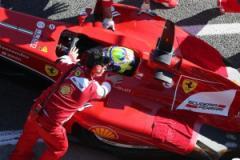 La Ferrari durante i test di Jerezede la Frontera (fonte immagine: F1 Official Site)