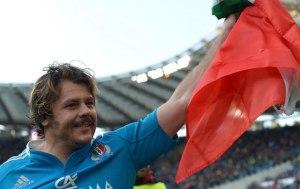 Nella foto Andrea Lo Cicero: lascia la Nazionale dopo 103 caps, recordman dell'Italia (fonte immagine: thenewstribe.com)