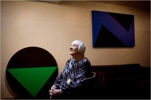 Carmen Herrera fonte immagine:nytimes.com
