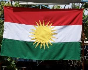 La bandiera del Kurdistan