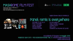 PANEL REMIX IS EVERYWHERE 2013