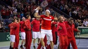 Milos Raonic festeggia la vittoria contro Seppi e la storica semifinale del Canada (fonte immagine: cba.ca)