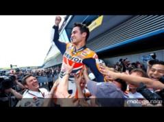 L'esultanza di Dani Pedrosa a fine gara (fonte immagine: motogp.com)