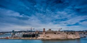 Fort Saint Jean -Vista dal Palais du Pharo - Marsiglia Fonte Immagine: saintlouisdefrance.it