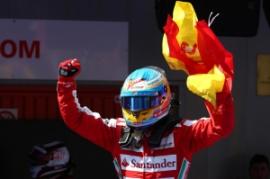 Un grande Fernando Alonso vince davanti ai suoi tifosi (fonte immagine: qnm.it)