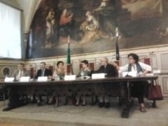 Un momento dell'incontro del 18 luglio 2013 alla Camera dei Deputati (©Lilia Biscaglia)