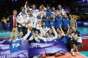 Una buona Italia ritrova il podio della World League dopo 9 anni (fonte immagine: Credits Fivb)