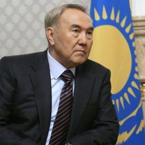 Nella foto Nursultan Nazarbaev, presidente del Kazakistan