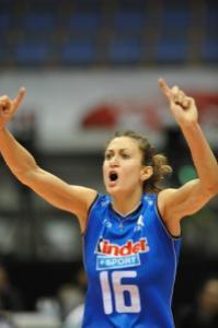 Lucia Bosetti, recuperata all'ultimo momento per gli Europei (fonte immagine: Galbiati Fiorenzo)