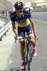 Alberto Contador, bidone d'oro 2013