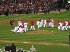 I Cardinals conquistano le World Series 2011 (fonte immagine: Jleybov_, Wikimedia Commons)
