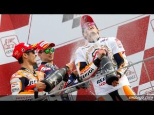 Il podio di Valencia (fonte immagine: motogp.com)