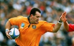 David Campese, mito del rugby, che salvò finanziariamente la carriera di Webber (fonte immagine: telegraph.co.uk)