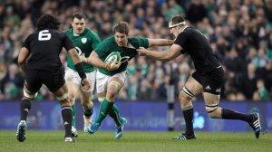 Un momento del match tra Irlanda e Nuova Zelanda (fonte immagine: Eurosport)