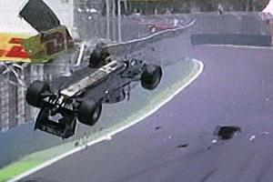 L'incidente di Webber nel GP Europa del 2010 (fonte immagine: Napoli Magazine)