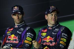 La rivalità tra Webber e Vettel (fonte immagine: motorionline.com)