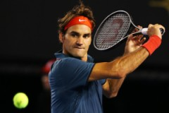 Roger Federer in azione a Melbourne (fonte immagine: Getty Images)