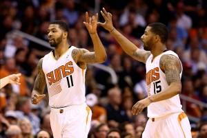 Marcus e Markieff Morris, i due gemelli della sorpresa Phoenix Suns