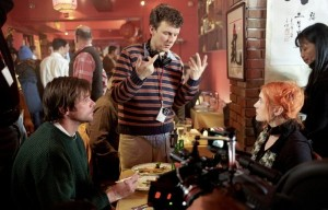"Michel Gondry sul set di ""Eternal Sunshine of the Spotless Mind"""