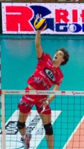 Aleksandar Atanasijevic in azione con la maglia di Perugia (fonte immagine: tifogrifo.com)