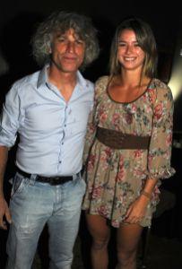 Sergio e Camila Giorgi