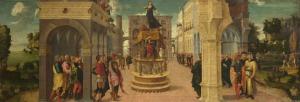 'Dido's Suicide', Liberale da Verona, London National Gallery