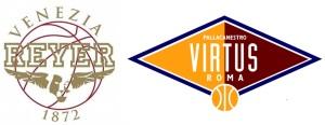 loghi venezia roma basket