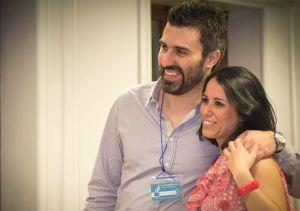 Maria Silvia Sanna e Davide Arnesano, fondatori di B-eat Digital Kitchen