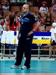 Il ct della Nazionale Mauro Berruto (Piotr Drabik, Wikimedia Commons)