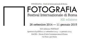 locandina fotografia festival roma 2014