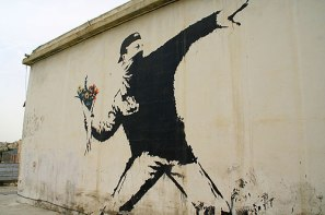 Banksy-Flower