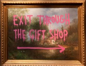exit banksy