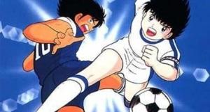 Holly-e-Benji-Oliver-Hutton-e-Mark-Lenders-calcio-dribbling