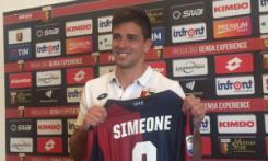 Giovanni Simeone, figlio di Diego, attuale allenatore dell'Atletico Madrid
