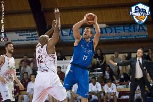 Daniele Bonessio in azione (fonte immagine: Ufficio stampa Eurobasket Roma)