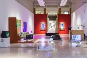 Domenico Quaranta, Cyphoria, exhibition view Palazzo delle Esposizioni Credits OKNOstudio (Ela Bialkowska, Ilan Zarantonello) Courtesy La Quadriennale di Roma