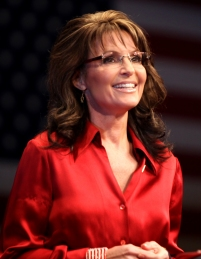 Sarah Palin, ex governatrice dell'Alaska e possibile Segretario agli Interni del Governo Trump; fonte immagine: Wikipedia.com