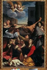 Reni, Guido (1575-1642): Slaughter of the Innocents. Bologna, Pinacoteca Nazionale Fonte immagine: Scuderie del Quirinale