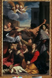 Reni, Guido (1575-1642): Slaughter of the Innocents. Bologna, Pinacoteca Nazionale Fonte immagine: Scuderie del Quirinale
