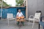 Mihalis, 48 anni, gestisce un hotel vicino alla buffer zone che necessita di urgenti lavori di ristrutturazione. Il suo costo per camera è di 15 euro per fine settimana | © Michele Cirillo