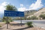 Cipro Nord. Indicazioni stradali per Nicosia in lingua turca | © Michele Cirillo